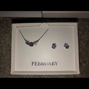 Chloe & Isabel Amethyst Jewelry Set
